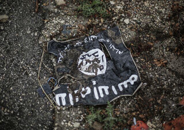 Le drapeau de Daech