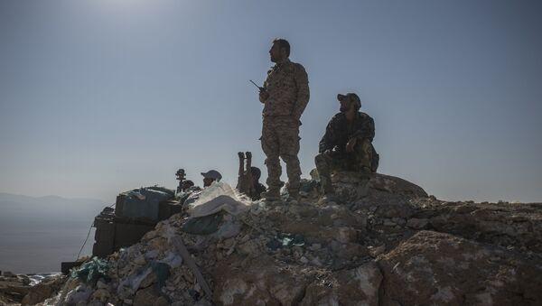 l'armée syrienne - Sputnik France