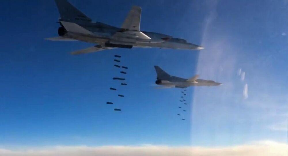 Des bombardiers russes Tu-22M3