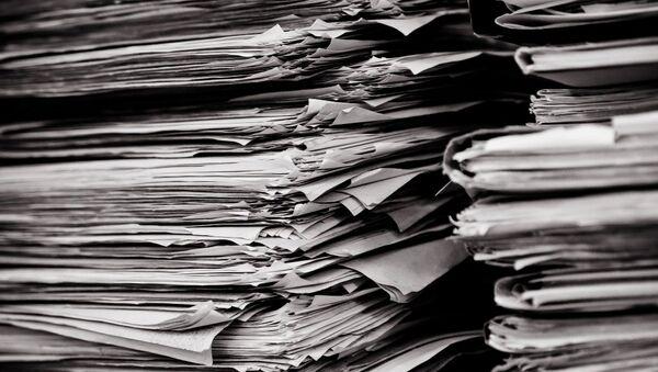 Une pile de documents - Sputnik France