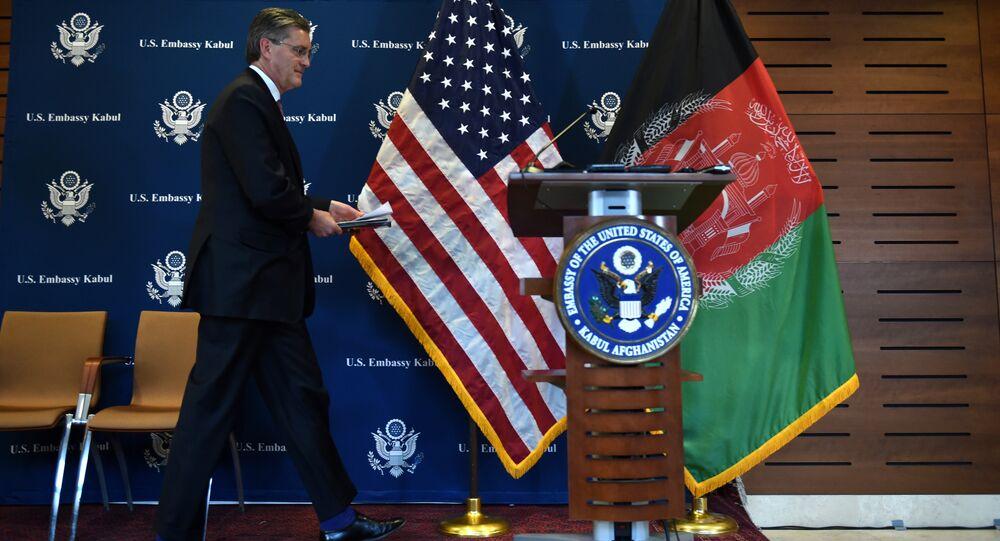 l'Ambassadeur Richard Olson,conférence internationale sur l'Afghanistan