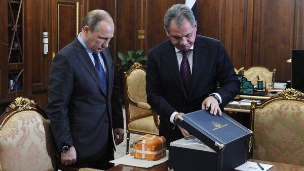 Poutine sur le point d'ouvrir l'enregistreur du Su-24 - Sputnik France