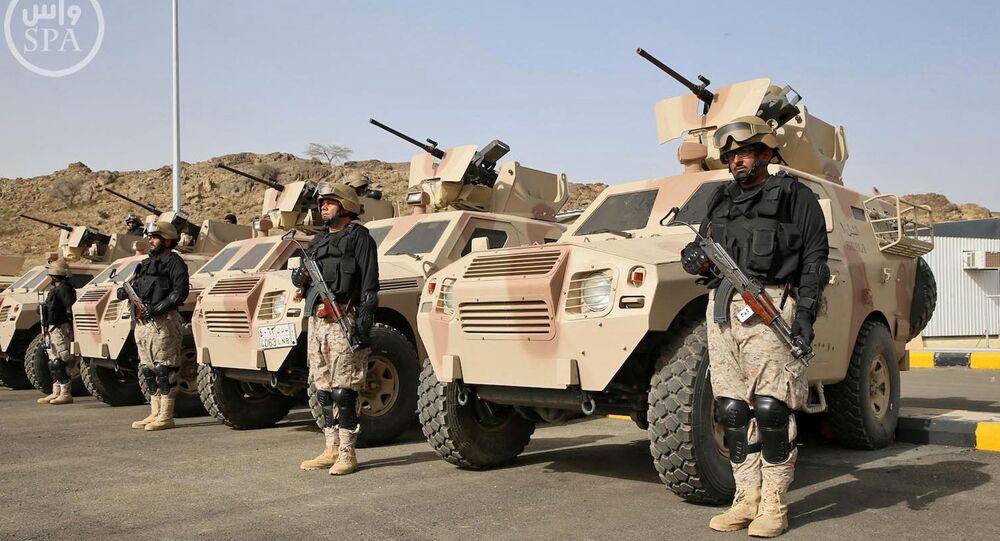 Des militaires saoudiens