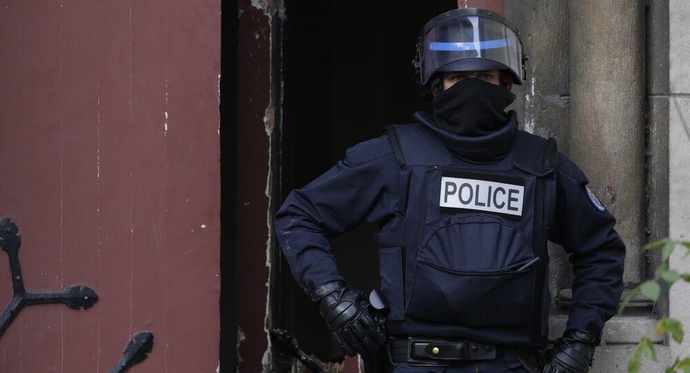 Un policier. Image d'illustration