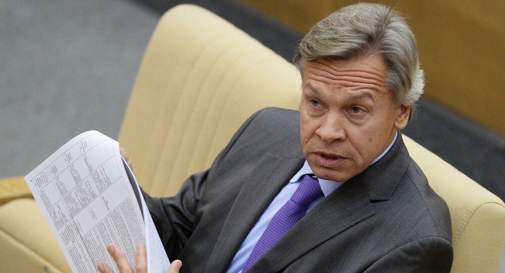 le député russe Alexeï Pouchkov