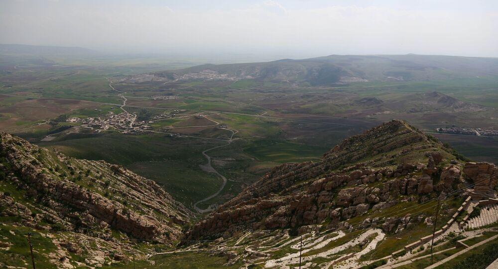 La ville chrétienne de Bashiqa, au nord de Mossoul