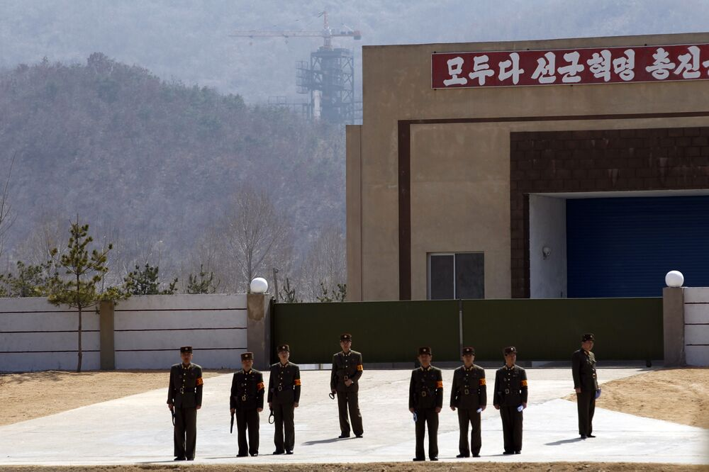 Corée du Nord: la base qui pourrait servir à lancer une bombe nucléaire