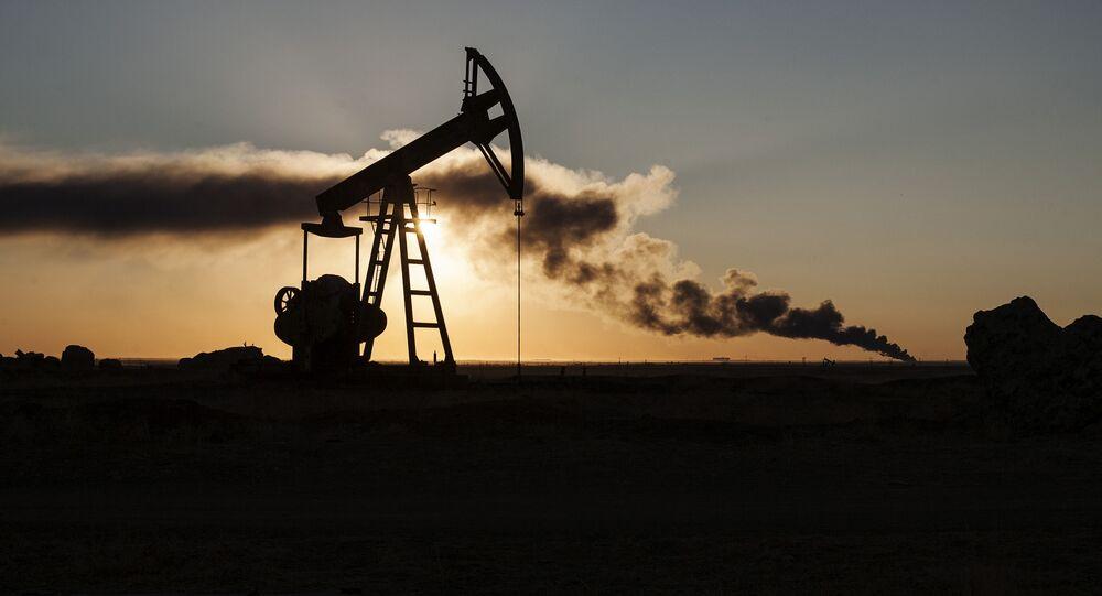 L'extraction du pétrole en Syrie