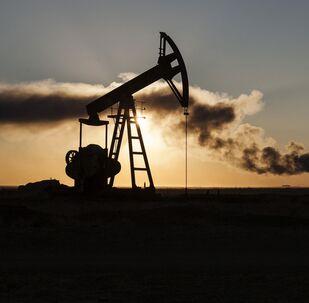 Un site pétrolier syrien