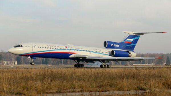 Un Tupolev Tu-154M Lk-1 - Sputnik France