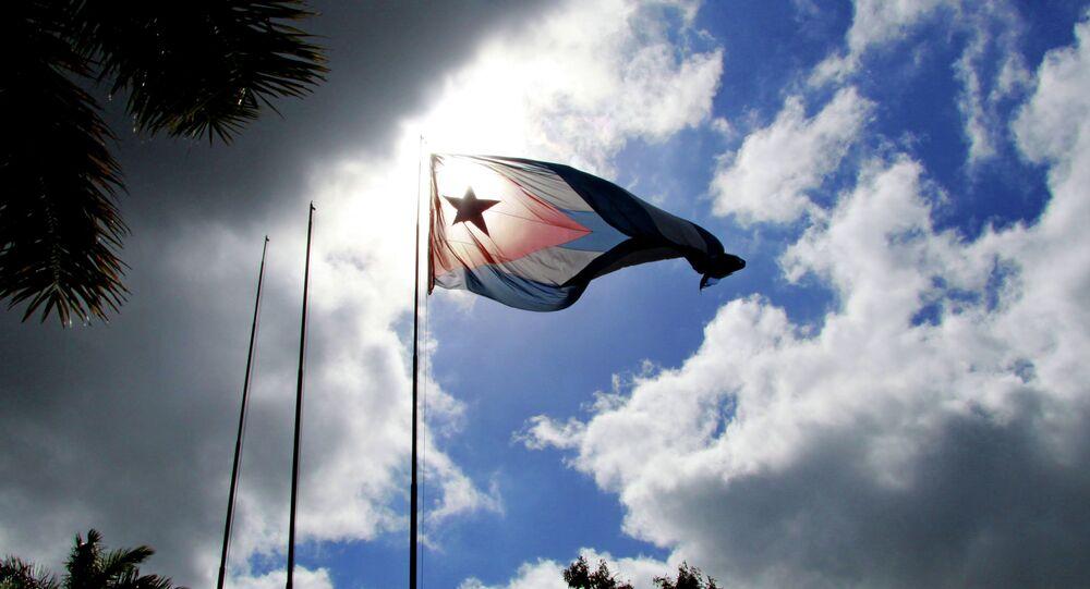 Le drapeau de Cuba