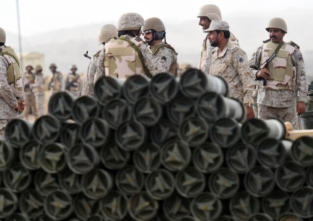Militaires saoudiens