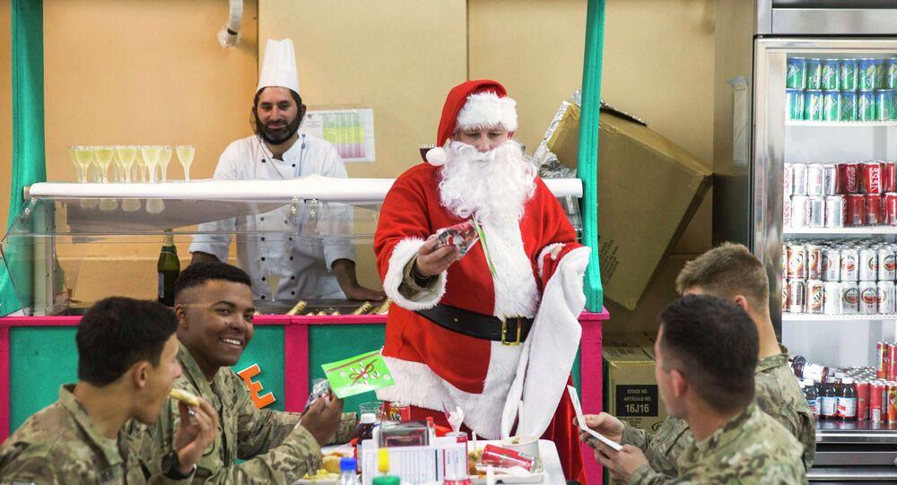 L'armée américaine tracera le Père Noël