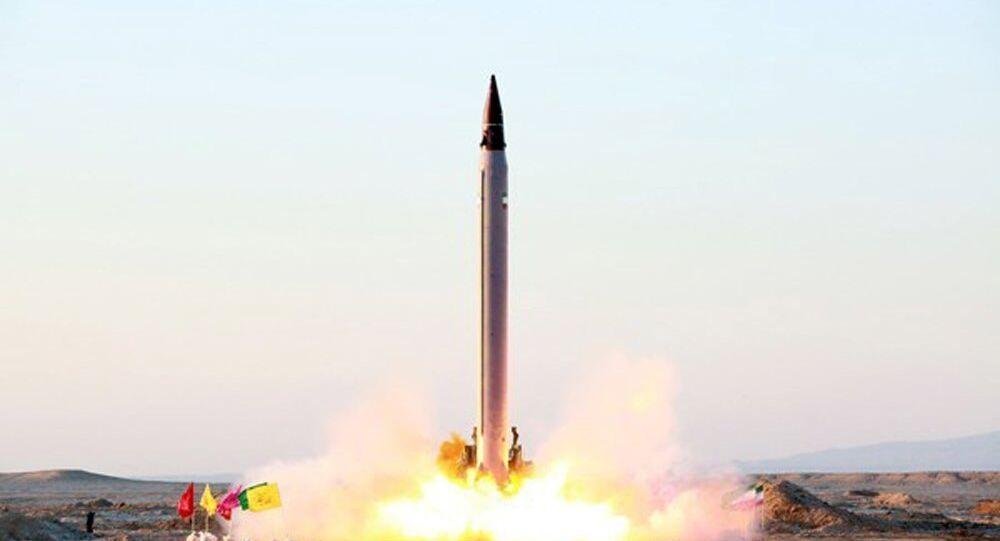 Un missile balistique iranien
