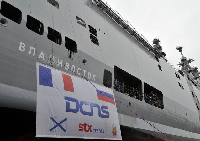 DCNS attend toujours le remboursement par l'Etat de coûts liés à l'annulation de la vente de deux bâtiments de surface et de projection (BPC) de type Mistral à la Russie