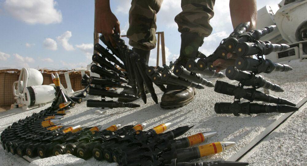 munition française