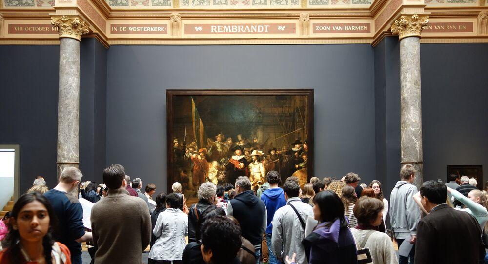 La Ronde de nuit, Rijksmuseum, musée d'Amsterdam