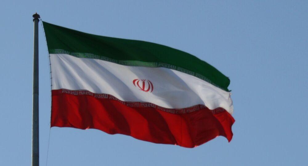Le drapeau de l'Iran
