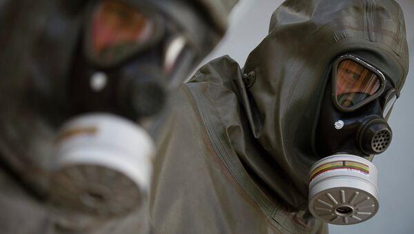 Masques à gaz. Image d'illustration - Sputnik France