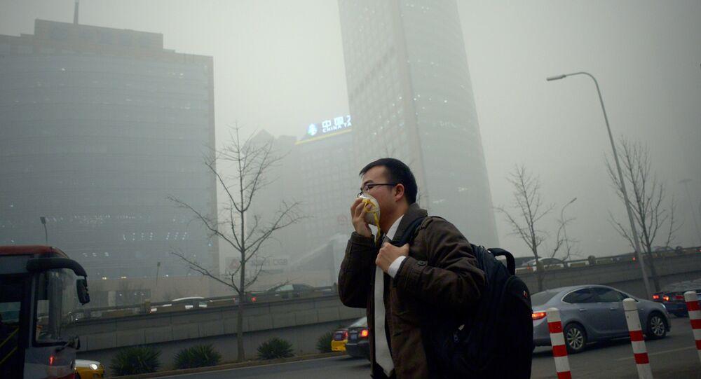Smog à Pékin