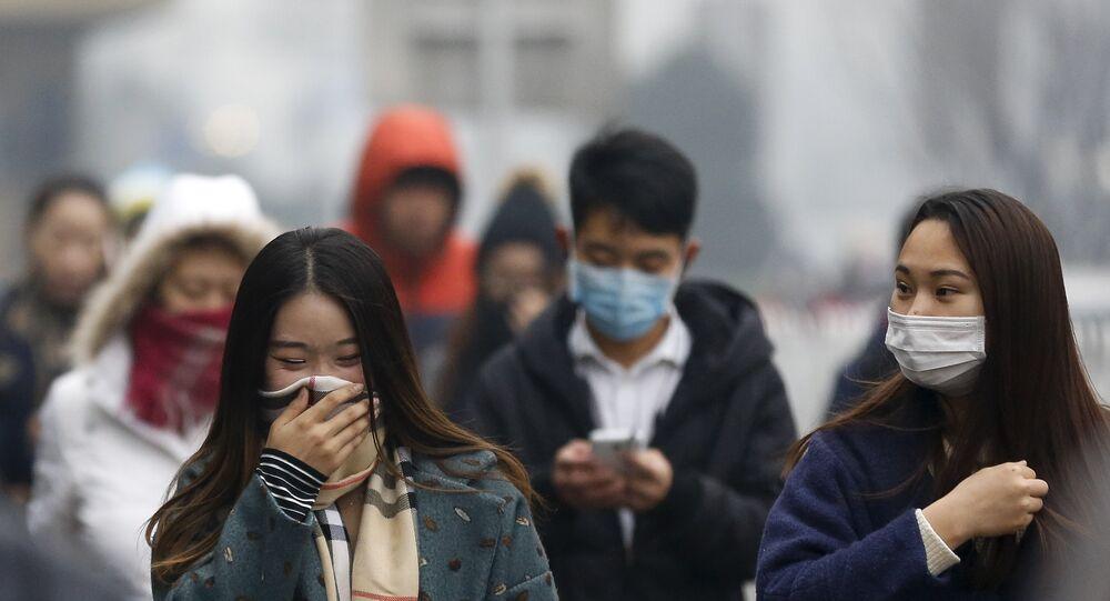 Pollution de l'air à Pékin
