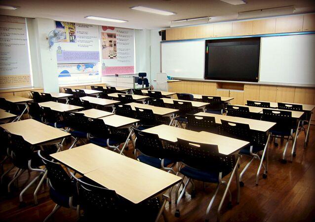 Une classe vide