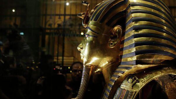 Le masque d'or funéraire de Toutankhamon - Sputnik France