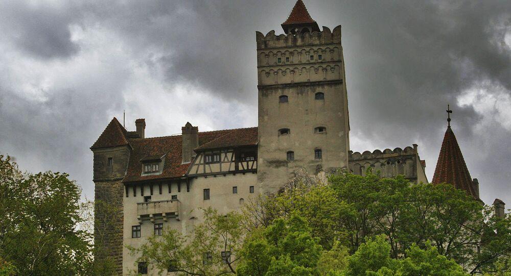 Château de Dracula, photo d'archives