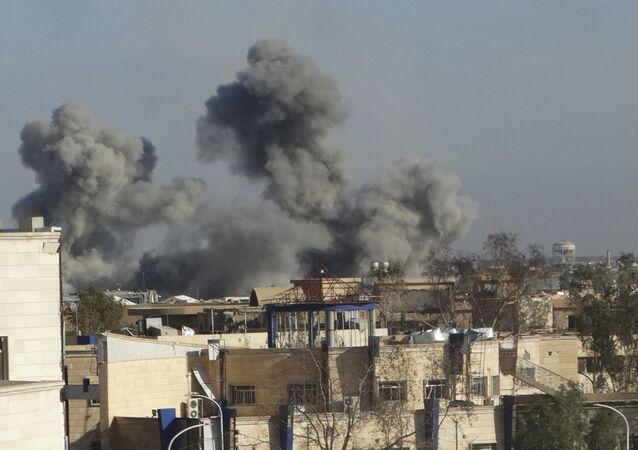 Un raid de l'aviation irakienne à Mossoul