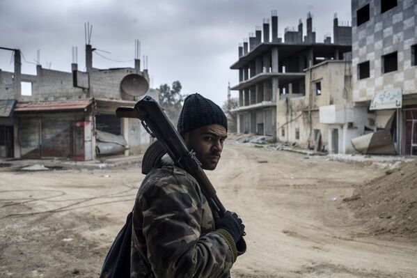 L'aérodrome militaire de Marj al-Sultan contrôlé par l'armée syrienne - Sputnik France