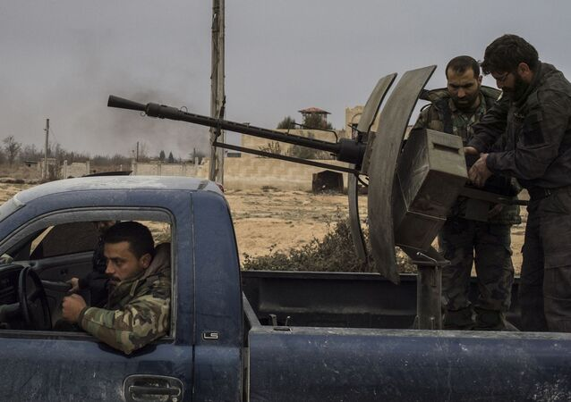 L'aérodrome militaire de Marj al-Sultan contrôlé par l'armée syrienne