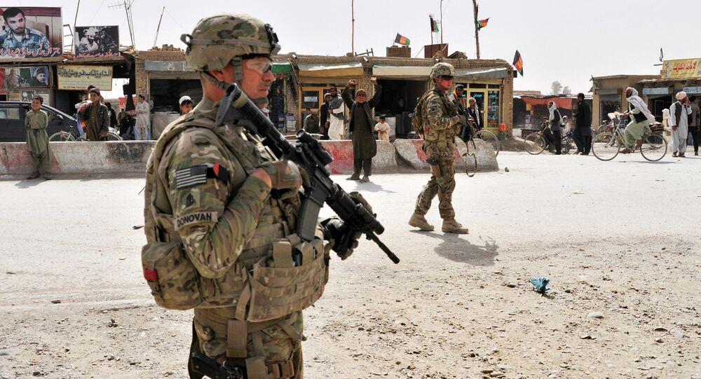 Soldats américains à la frontière afghano-pakistanaise