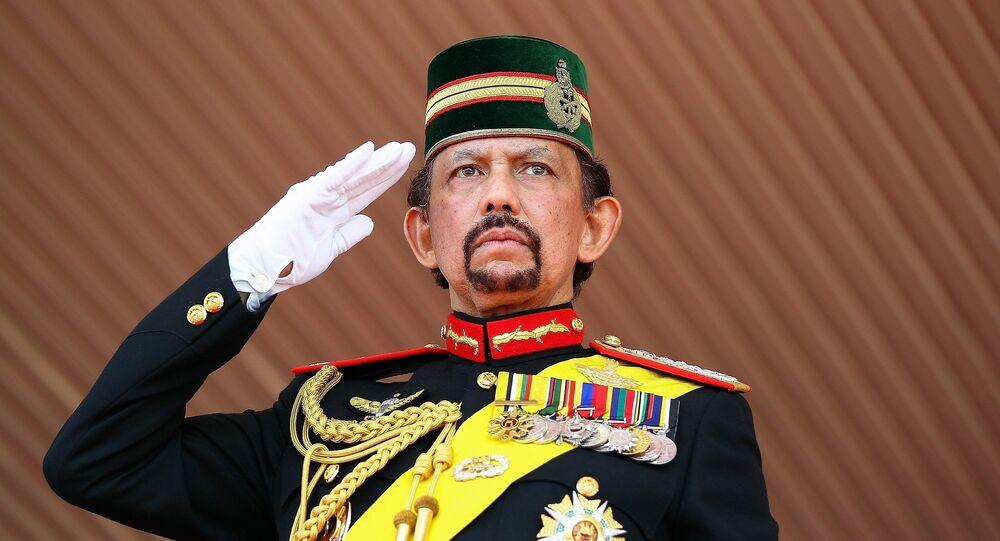 Sultan de Brunei  Hassanal Bolkiah