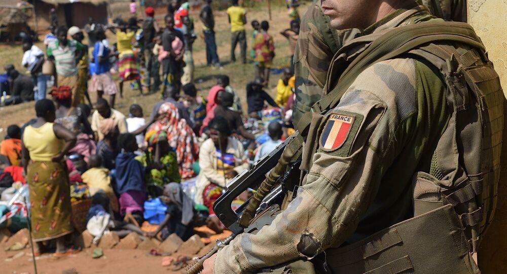 Un soldat français participant à l'opération de sécuritsation Sangaris. Archive photo