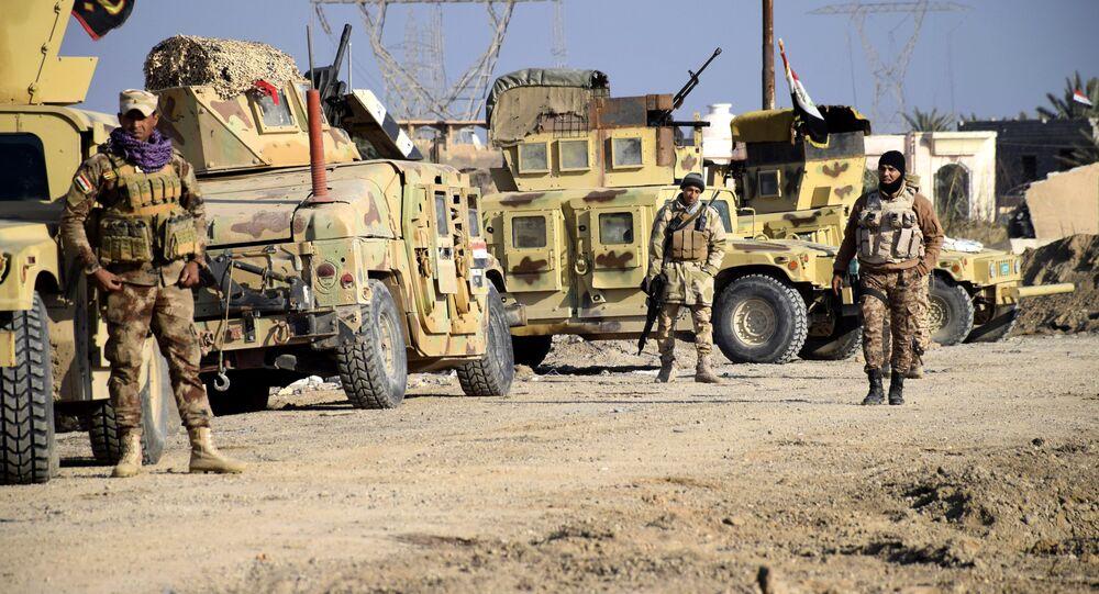 Soldats irakiens à Ramadi, le 21 décembre 2015