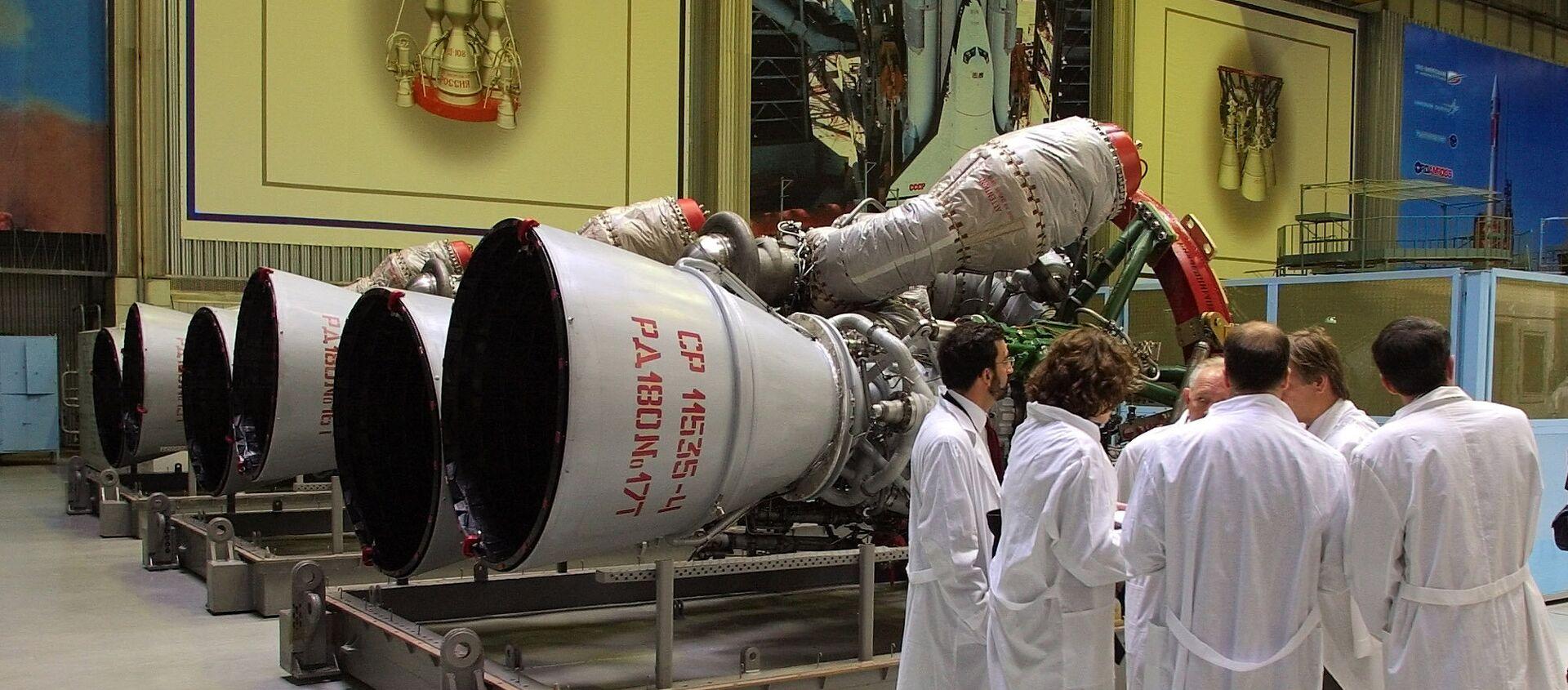 de moteurs-fusées RD-180 - Sputnik France, 1920, 20.07.2021
