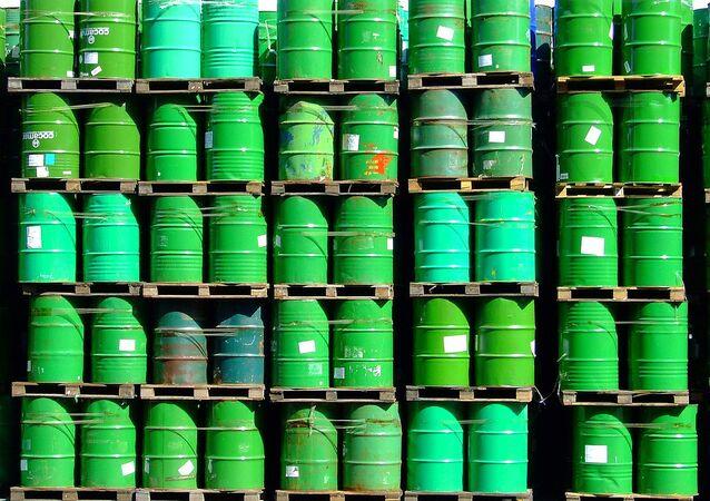 barrels de pétrole
