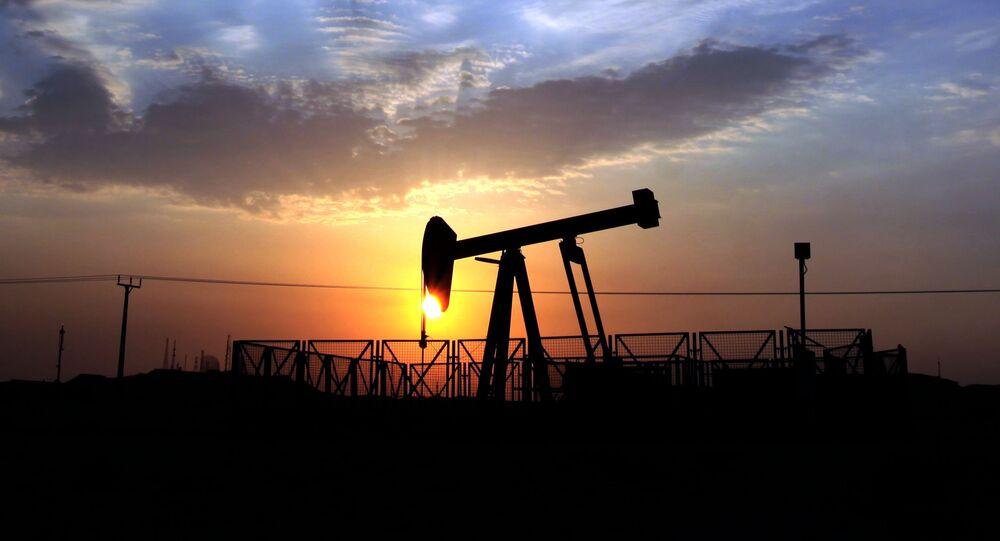 Une extraction de pétrole, image d'illustration