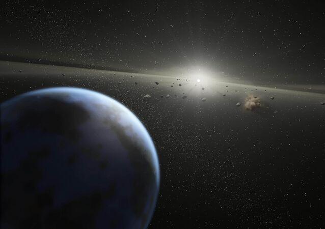 Terre et astéroïdes