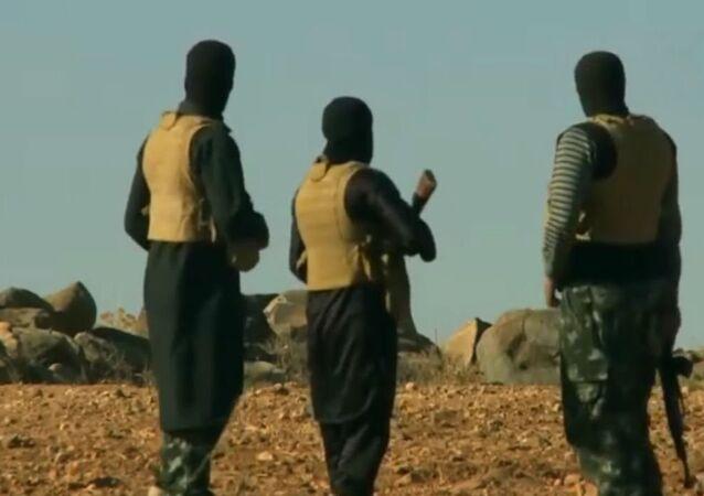 Des terroristes de Daech en Afghanistan