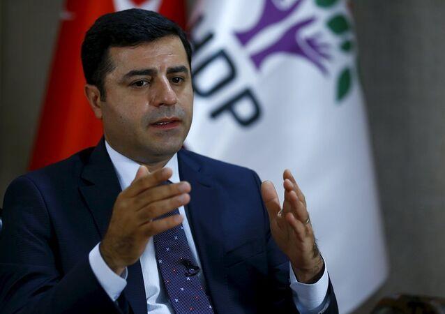 Coprésident du parti pro-kurde  HDP, Selahattin Demirtas