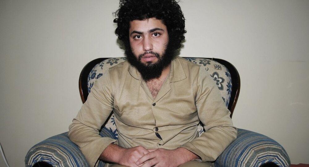 Abdurrahman Abdulhadi, combattant de Daech capturé par les milices kurdes en Syrie