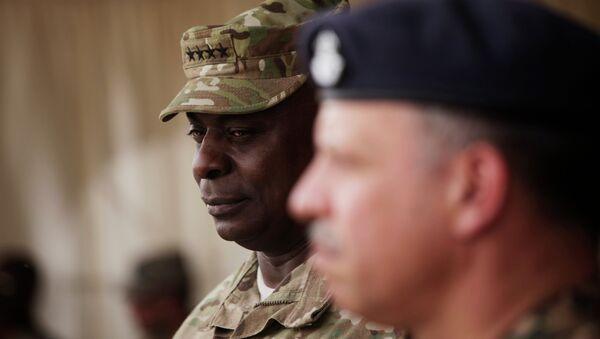 le général Lloyd Austin, chef du Commandement central américain - Sputnik France