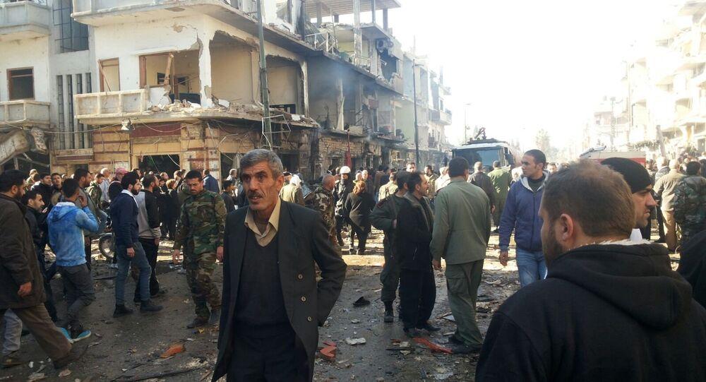 Ttriple attentat dans une ville syrienne de Homs