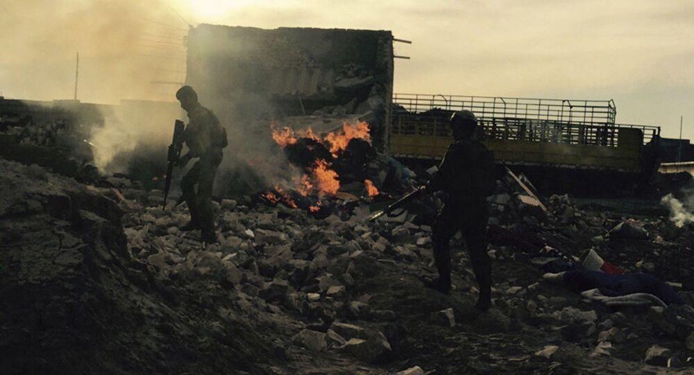 Les forces de sécurité irakiennes entrent à Ramadi