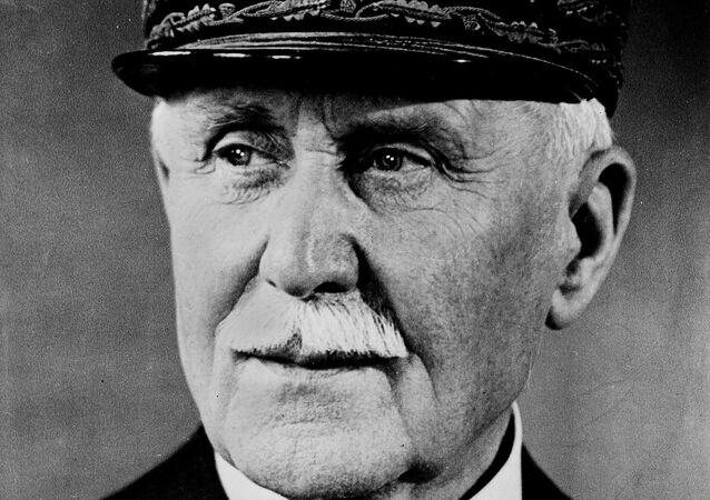 Philippe Pétain, un chef du régime de Vichy.