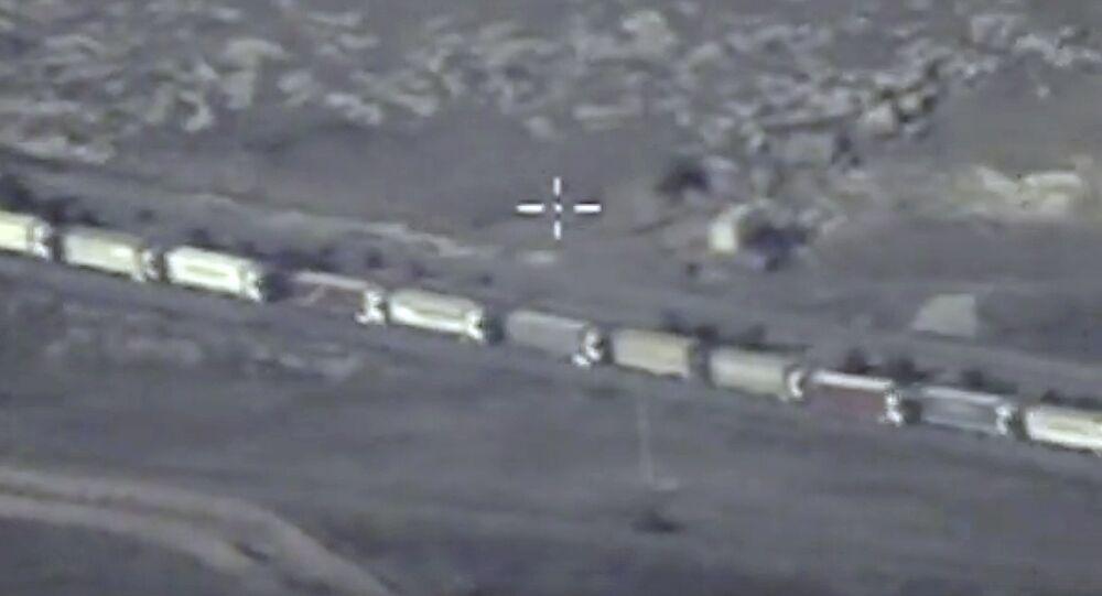 Pillage pétrolier de Daech en Syrie