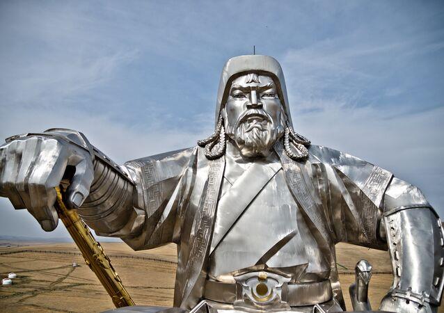 Statue de Genghis Khan