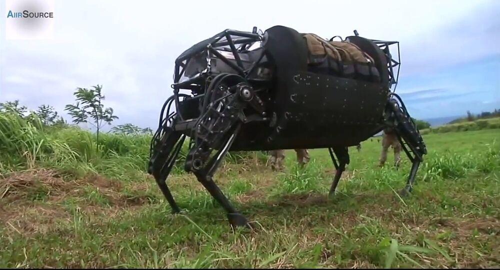L'armée US refuse la mule robotique