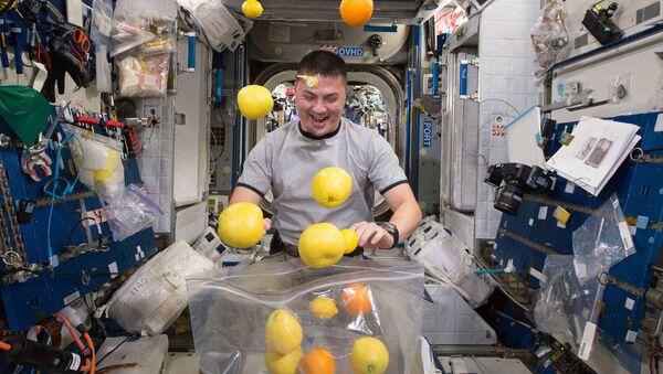 L'astronaute sur la Station spatiale internationale. Image d'illustration - Sputnik France